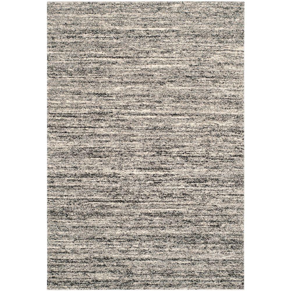 Safavieh Retro Wright Ivory / Grey 8 ft. x 10 ft. Indoor Area Rug