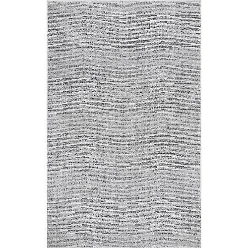 Sherill Grey 5 ft. x 8 ft. Indoor Area Rug