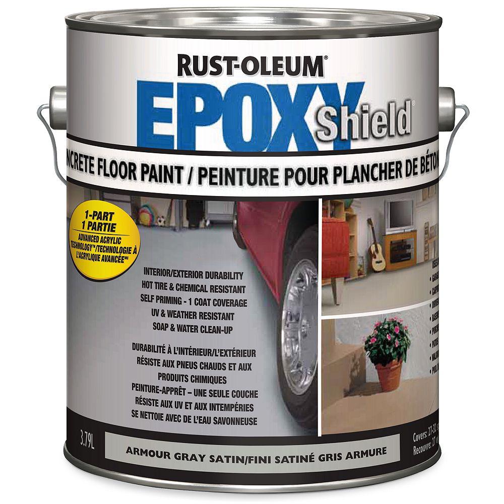 Epoxyshield Peinture Pour Planchers En Beton 3 78 L Home Depot Canada