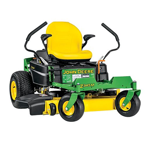 John Deere Z345M 42-inch 22 HP Dual Hydrostatic Gas Powered Zero-Turn Riding Mower