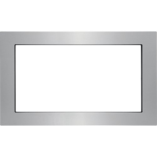 Frigidaire Gallery 30-inch Trim Kit for Built-In Microwave Oven in Stainless Steel