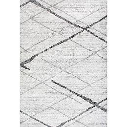 Thigpen Grey 9 ft. x 12 ft. Indoor Area Rug