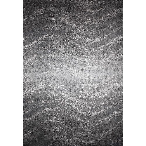 nuLOOM Julene Grey 4 ft. x 6 ft. Indoor Area Rug