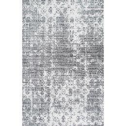 Deedra Grey 9 ft. x 12 ft. Indoor Area Rug