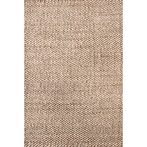 Hand Woven Hailey Jute Natural 4 ft. x 6 ft. Indoor Area Rug