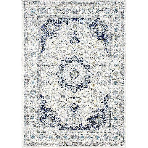 Verona Blue 5 ft. x 7 ft. 5-inch Indoor Area Rug
