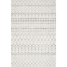 Moroccan Blythe Grey 8 ft. x 10 ft. Indoor Area Rug