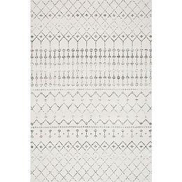 Moroccan Blythe Grey 9 ft. x 12 ft. Indoor Area Rug