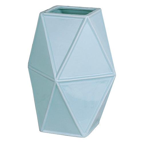 Geometric Ceramic Decorative Vase