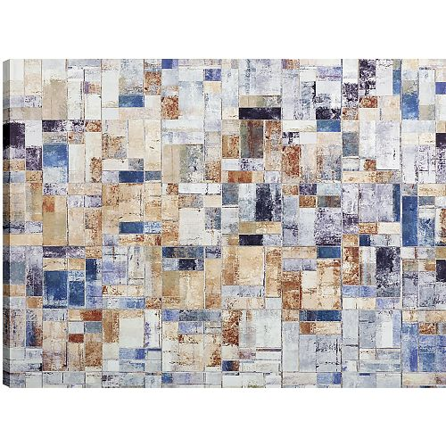 Art Maison Canada 30x40 Rectagular Abstract, Canvas Print Wall Art, Ready to hang