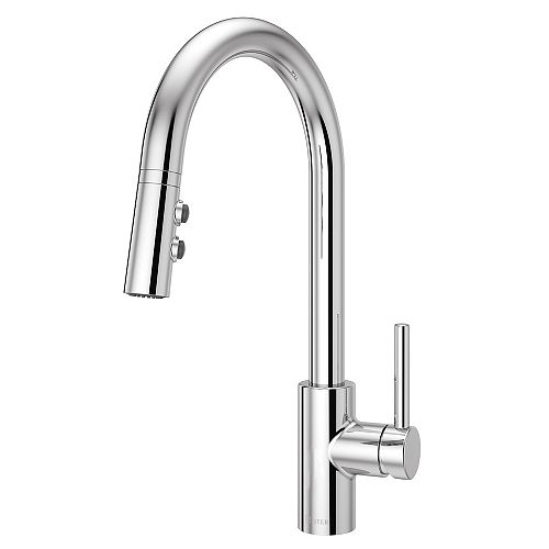 Stellan Kitchen Pulldown Faucet in Polished Chrome