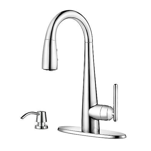 Pfister Lita Bar & Prep Faucet in Polished Chrome