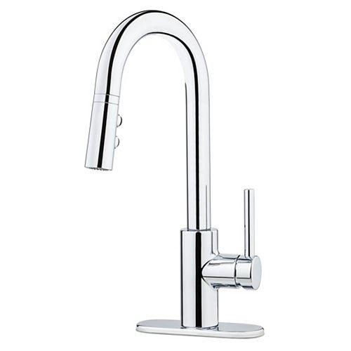 Stellan Bar & Prep Faucet in Polished Chrome