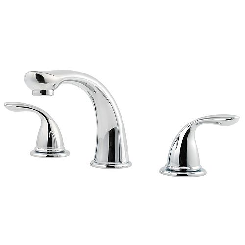 Garniture de baignoire romaine, chrome poli