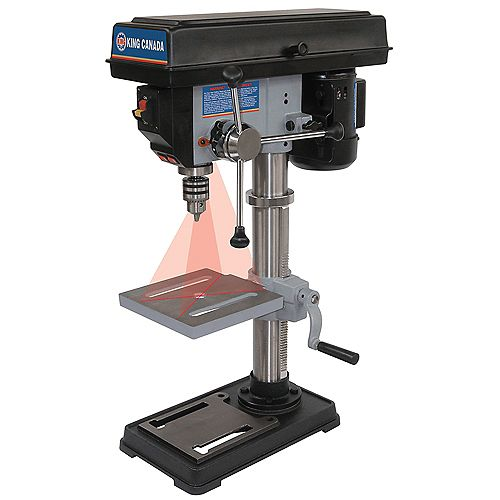 King Canada 10 inch. Drill Press With Dual Laser Guide System