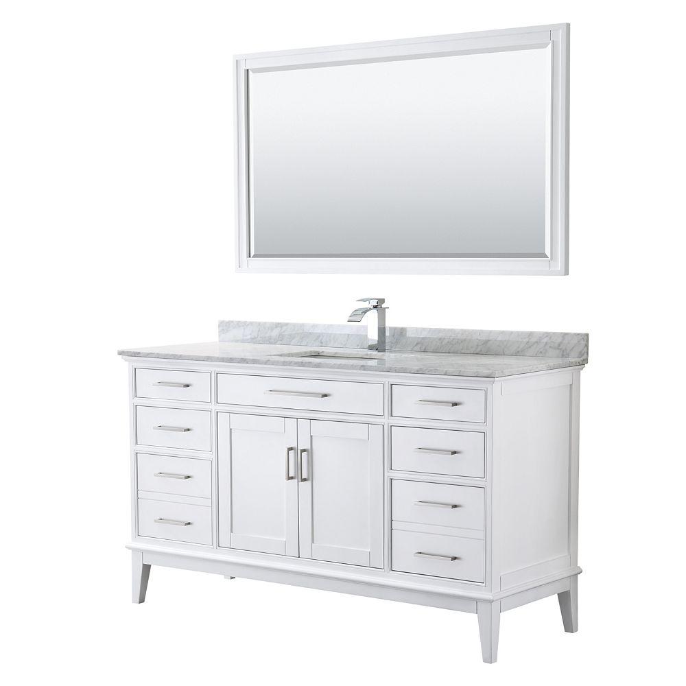Wyndham Collection Margate 60 Inch, 56 Inch Bathroom Vanity