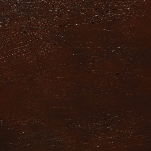 48 inch x 96 inch Recycled Leather Veneer Sheet in Mahogany Buffalo