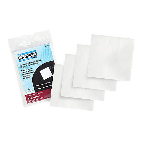 Replacement Electrostatic Chamber Vacuum Filters Compatible with Kenmore 40321