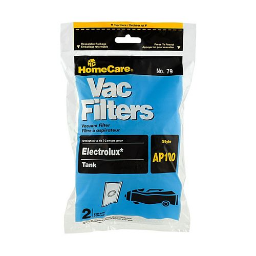 Replacement Filter Compatible with Electrolux AP-100 (2-Pack)