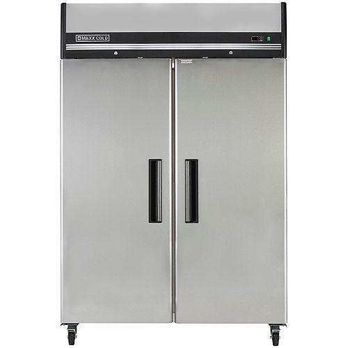 54-inch Reach-In 49 cu. ft. 2-Door Commercial Freezer