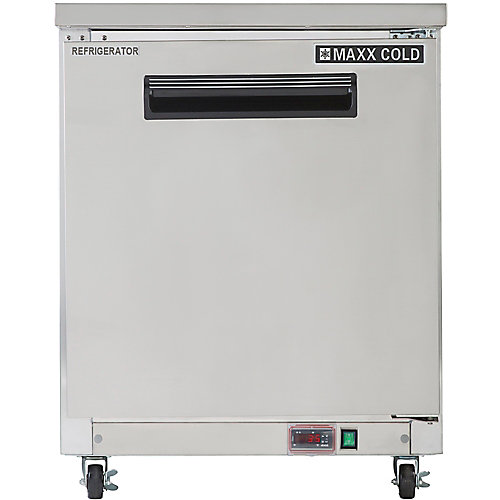27 inch 6.5 cuft Commercial Under Counter Refrigerator