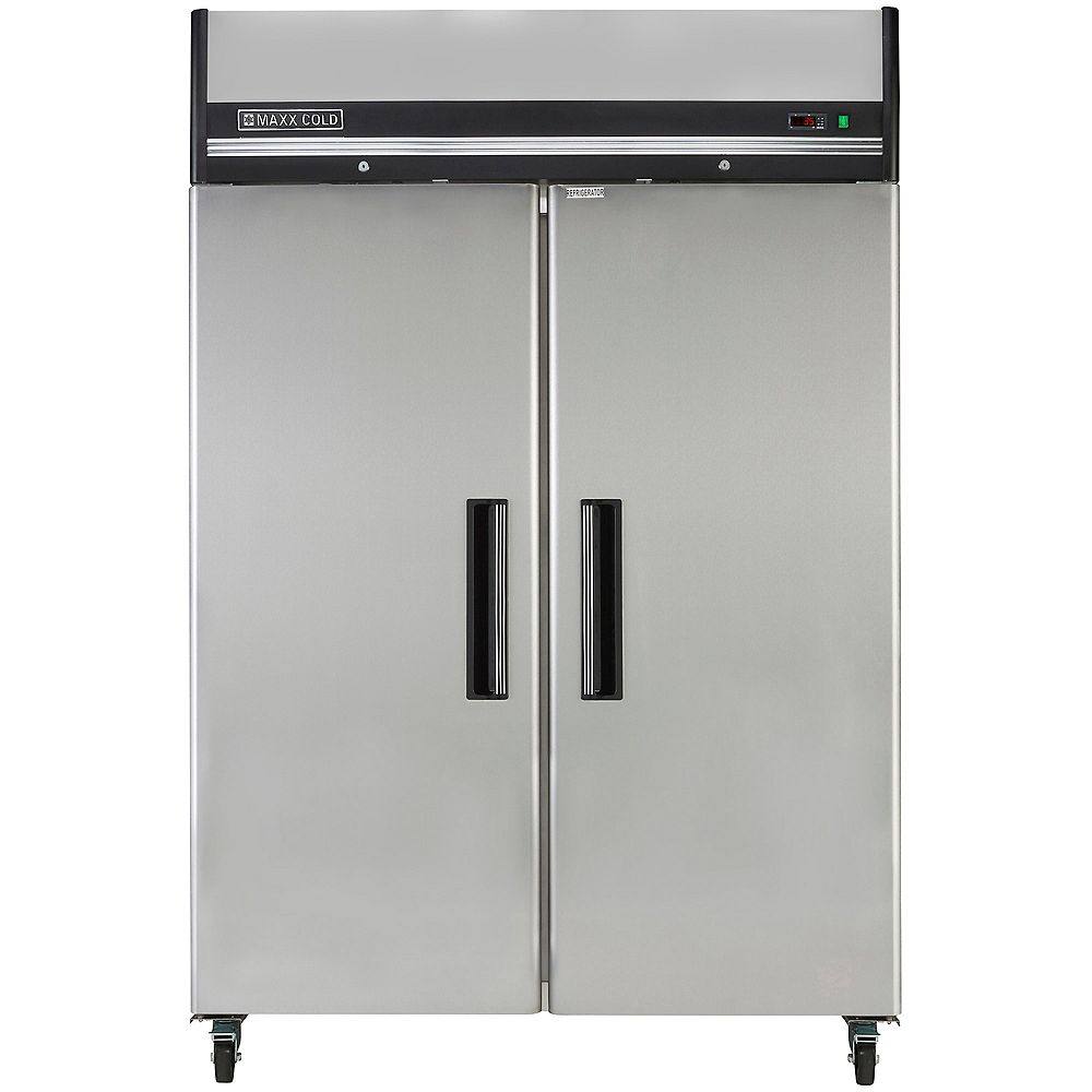 Maxx Cold X-Series 49 cu. ft. Double Door Commercial Reach-In Refrigerator