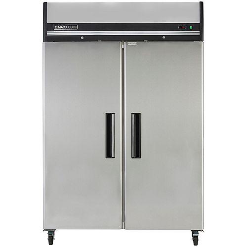 49 cu. ft. Double Door Commercial Reach-In Refrigerator