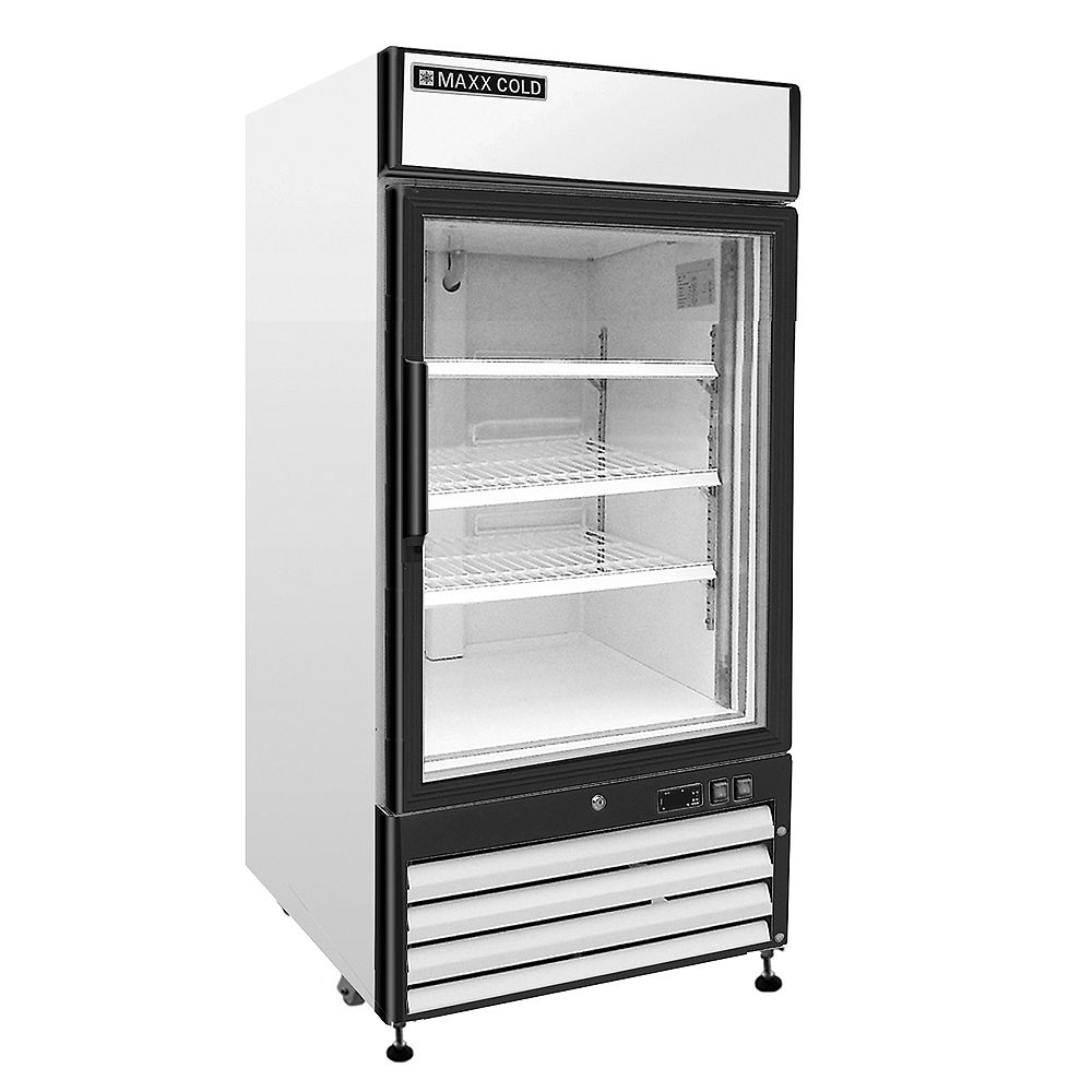 Maxx Cold X-Series 26-inch 12 cu. ft. Reach-In 1-Door Commercial Refrigerator