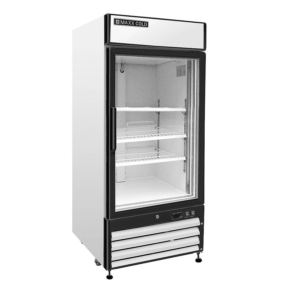 Maxx Cold X-Series 16 cu. ft. Single Door Merchandiser Commercial Refrigerator