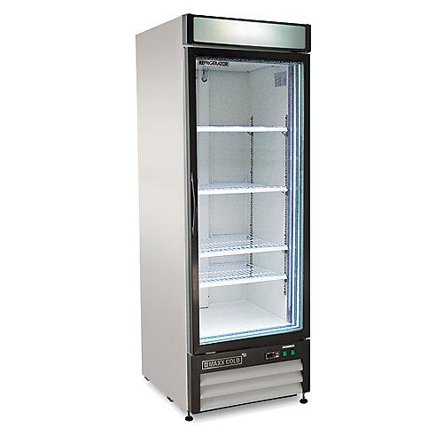 Armoire réfrigérée commerciale à 1 porte, 32 po, 23 pi3