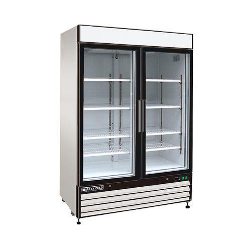 54-inch Reach-In 48 cu. ft. 2-Door Commercial Freezer
