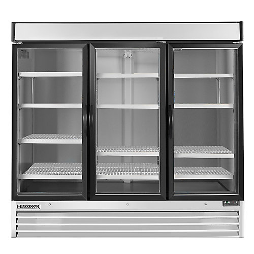 Commercial 81 inch 72 cu.ft Reach-in 3-door Refrigerator