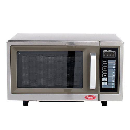 1.0 cu.ft Digital Commercial Microwave - 1000W