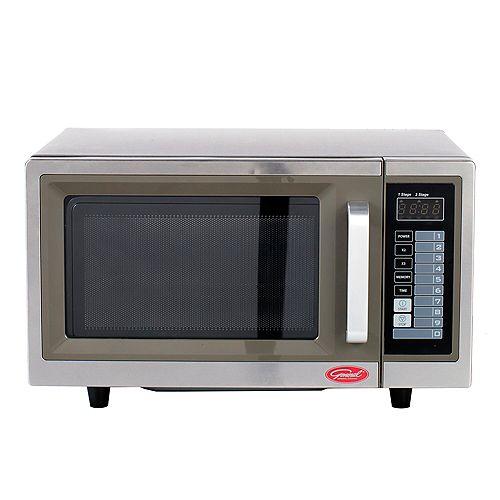 General 1.0 cu.ft Digital Commercial Microwave - 1000W