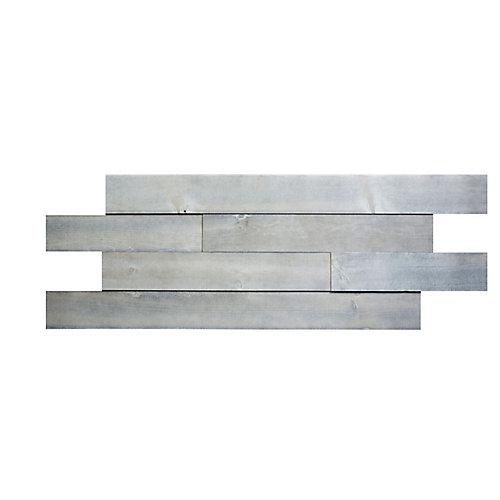 Peeble grey Shiplap 3D wood