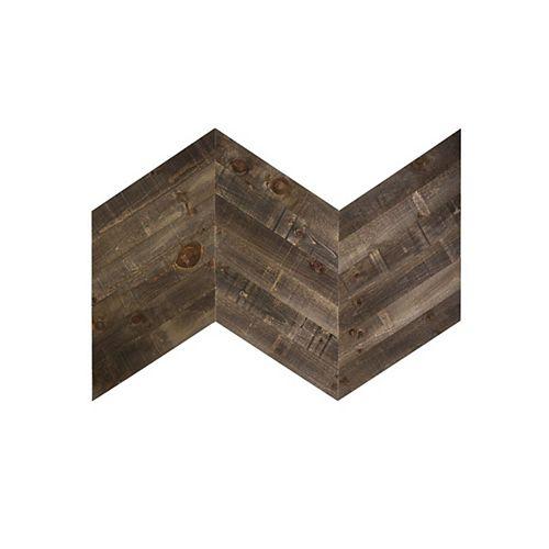 Bronze Chevron wood