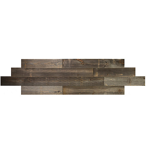 Bronze Tongue and groove 2D wood