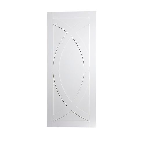 White primed Arcô door 1-3/8 inch x 36 inch x 84 inch