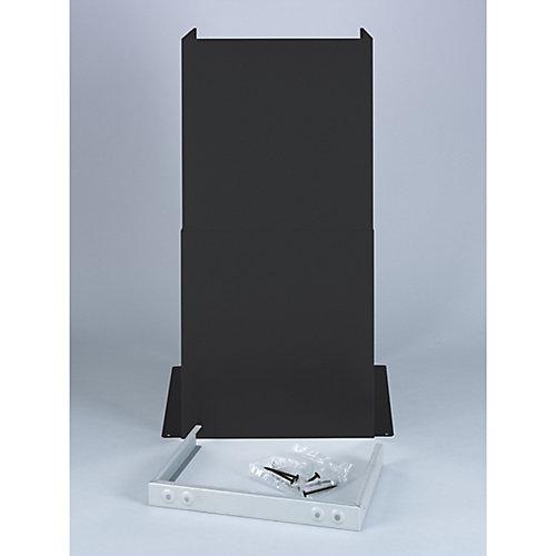 Kit de rallonge de cheminée GE - Ardoise noire
