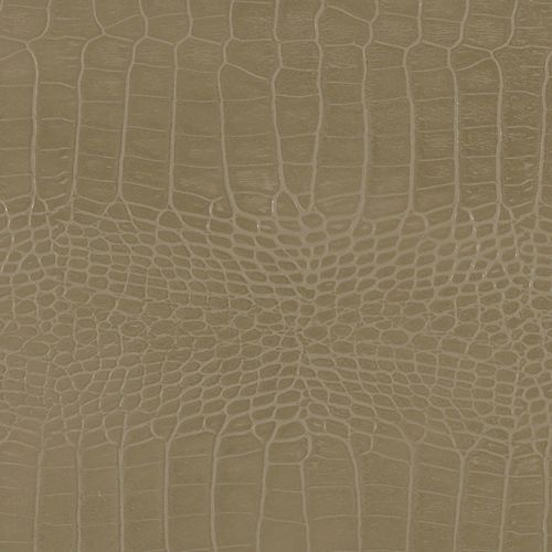 48 inch x 96 inch Recycled Leather Veneer Sheet in Grey Thunder  Crocodile