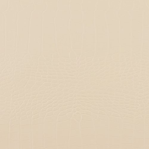 48 inch x 96 inch Recycled Leather Veneer Sheet in Bianco  Crocodile
