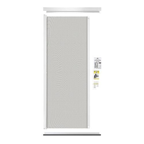 Moustiquaire Rétractable Porte D'entrée Simple blanc