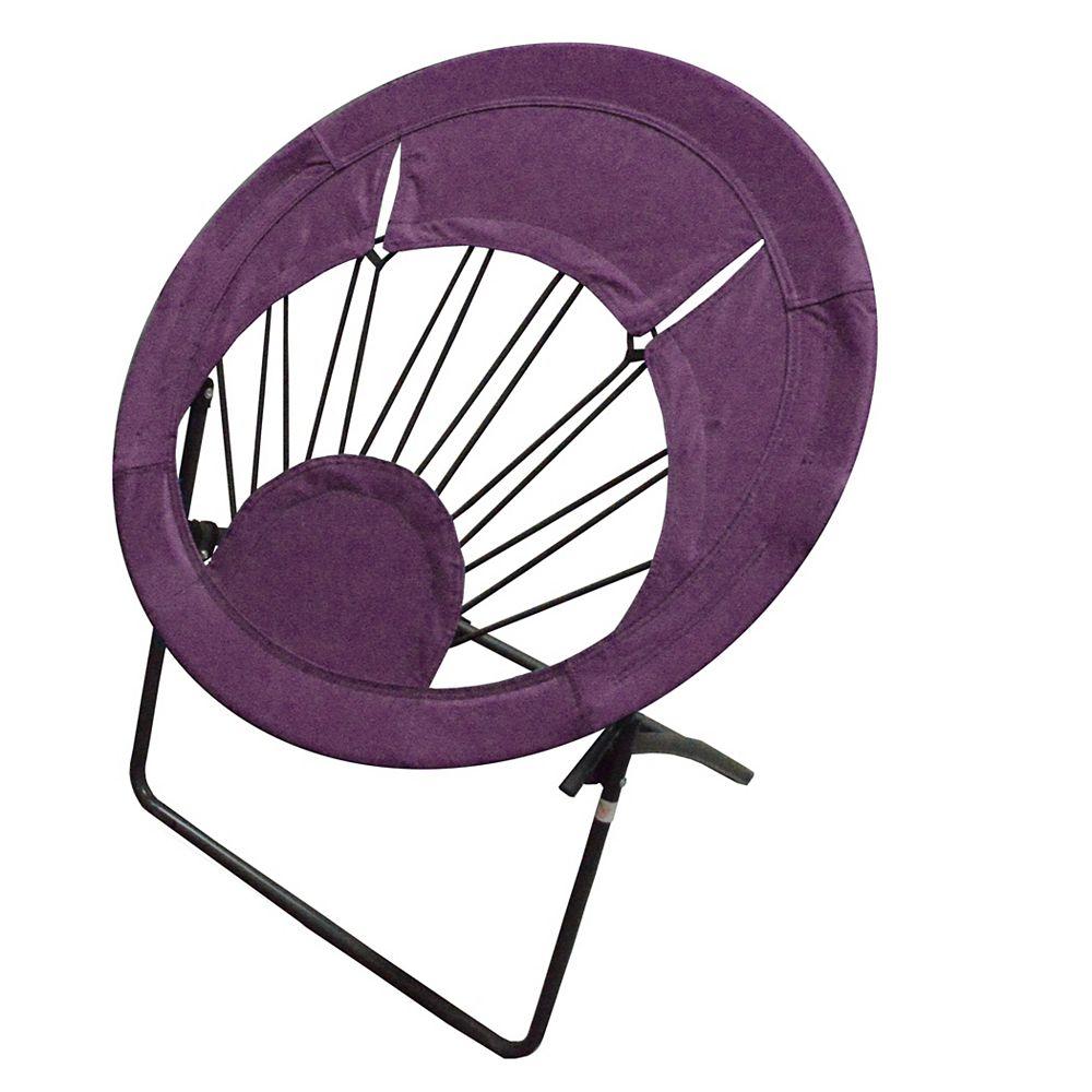 Impact Canopy Bungee Chair Folding Chair  Purple