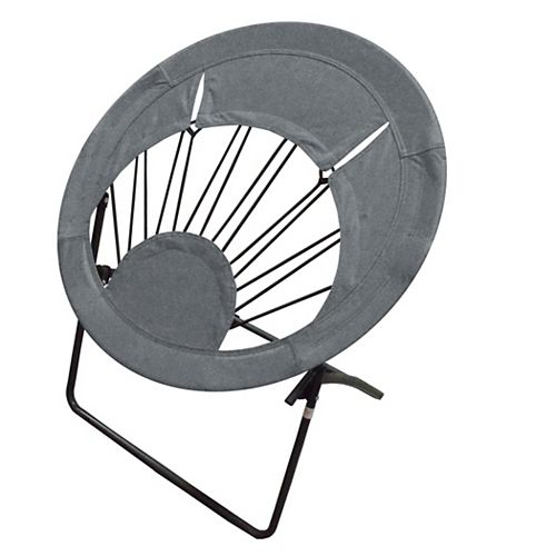 Impact Canopy Bungee Chair Folding Chair Gray