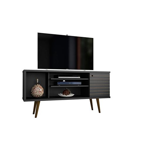 Manhattan Comfort Liberty TV Stand 53.14 en noir