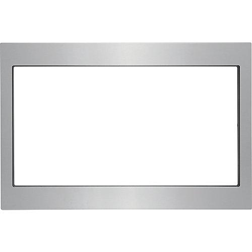 Kit de garniture de 27 po pour four à micro-ondes encastré en acier inoxydable