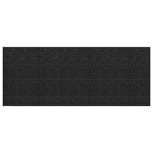 Tapis de sol, 2 pi x 5 pi, Concord, gris graphite