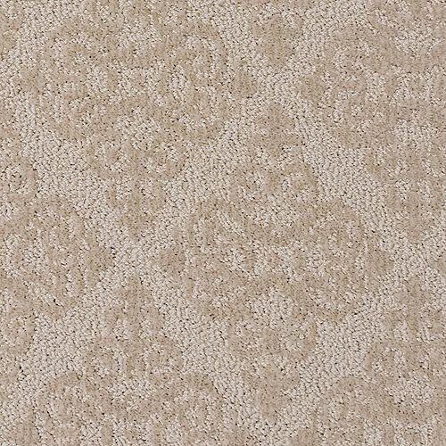 Belflower Dream Vacation 12 ft. X Custom Length Patterned Level Cut & Loop Indoor Carpet