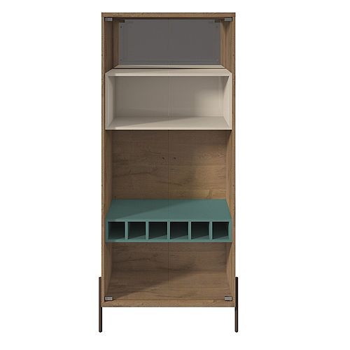 Joy Wine Cabinet in Blue