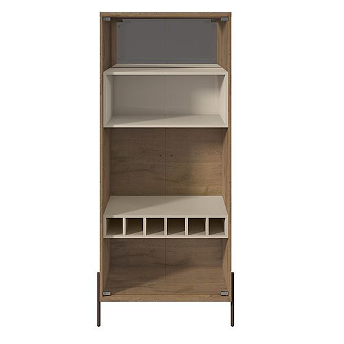 Joy Wine Cabinet in Off White